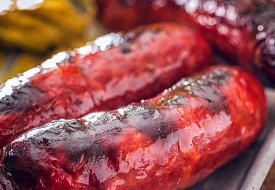 Korkers Chilli Sausages