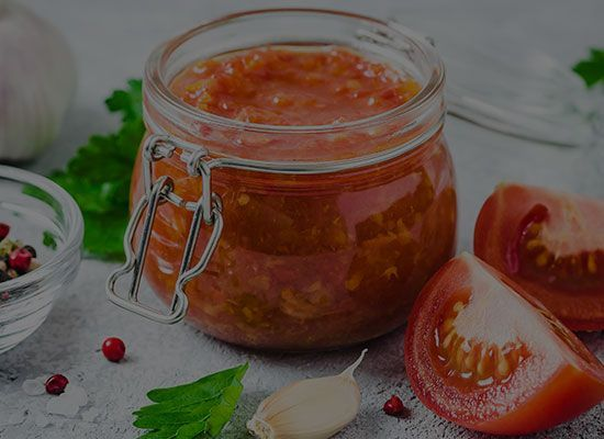 Sweet Tomato and Chilli Chutney