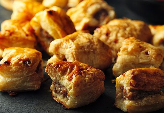 Korkers Cocktail Sausage Rolls